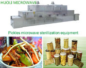 Automatic Sterilizing Microwave Equipment For Glass Canned Food